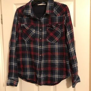 BRAND NEW RED, WHITE, AND BLUE FLANNEL